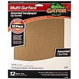 ALI INDUSTRIES 4445 Assorted Sandpaper, 9-Inch x 11-Inch