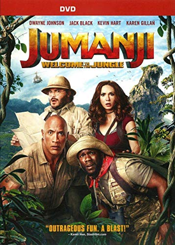 Information Dvd - Jumanji: Welcome to The Jungle DVD