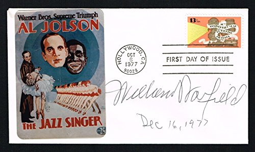 Adams Baritone (William Warfield (d. 2002) signed autograph First Day Cover Concert Bass-Bariton)