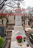 Gedichtinterpretationen, Henning Heske, 3848222256