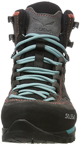 magnet Green Black Ws Hiking Mtn Mid Boots viridian Gtx Women's Salewa 674 Trainer High Rise fwFqPvx