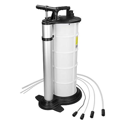 ECD Germany Bomba succionadora de aceite Unidad de drenaje de aceite Dispositivo sangrador de frenos Bomba