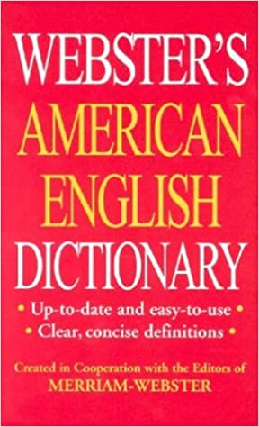 Webster's American English Dictionary/Thesaurus