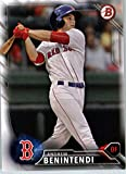 2016 Bowman Prospects #BP62 Andrew Benintendi Boston Red Sox Baseball Card in Protective Screwdown Display Case