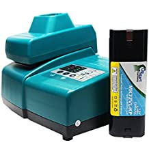 Makita 7000 Battery + Universal Charger for Makita Replacement - For Makita 7.2V Power Tool Batteries and Chargers (1300mAh, NICD)