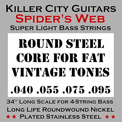 (Weekend Sale) Spider's Web Super Light Bass Guitar Strings for 4 String - Guitars Sale For Cheap Bass