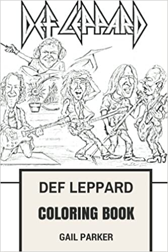 Amazon.com: Def Leppard Coloring Book: Legendary Hard Rock and Heavy ...