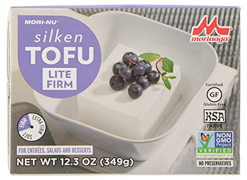 Mori-Nu Silken Tofu, Lite Firm, 12.3 Ounce (Case of 12)