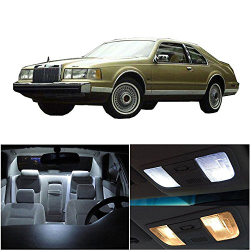 - cciyu Replacement fit for Lincoln Town Car 1998-2011 Interior LED Light Package Kit 14 Pack White Light