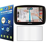 """GuarmorShield 3x Tomtom Go 50 S 50S 5"""" GPS Premium Clear LCD Screen Protector Guard Cover Film Kits (NO Cutting, Package by GUARMOR)"""