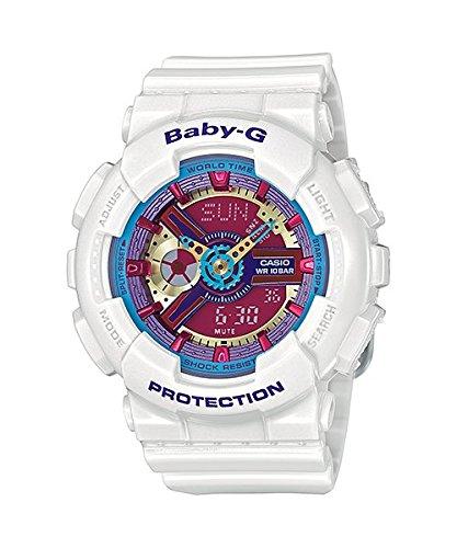 Casio Reloj Analógico-Digital para Mujer de Cuarzo con Correa en Resina BA-112-7AER: Casio: Amazon.es: Relojes