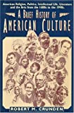 Brief History of American Culture, Crunden, Robert, 1557787050