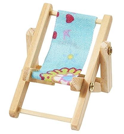 Mini Sdraio Da Spiaggia.Mini Sdraio Da Spiaggia 5 X 3 5 Cm Blu Amazon It Casa E