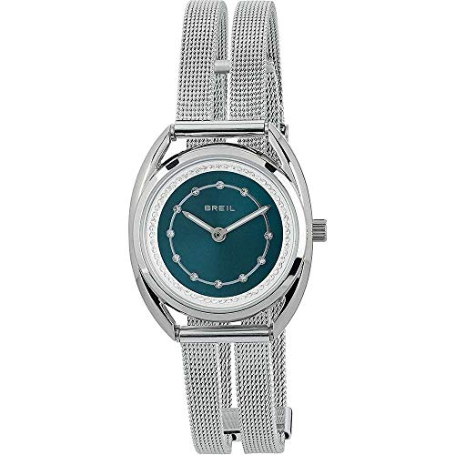 BREIL Watch Petit Female Stainless Steel Blue with Crystals - TW1802