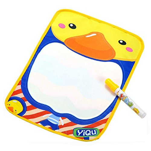 Price comparison product image FEITONG Doodle Toy Gift Magic Pen+Water Drawing Painting Writing Mat Board 3626.5CM (36X26.5cm, white)