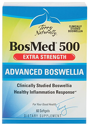Terry Naturally BosMed 500 - Extra Strength Advanced Boswellia - 60 (Extra Strength Softgels)