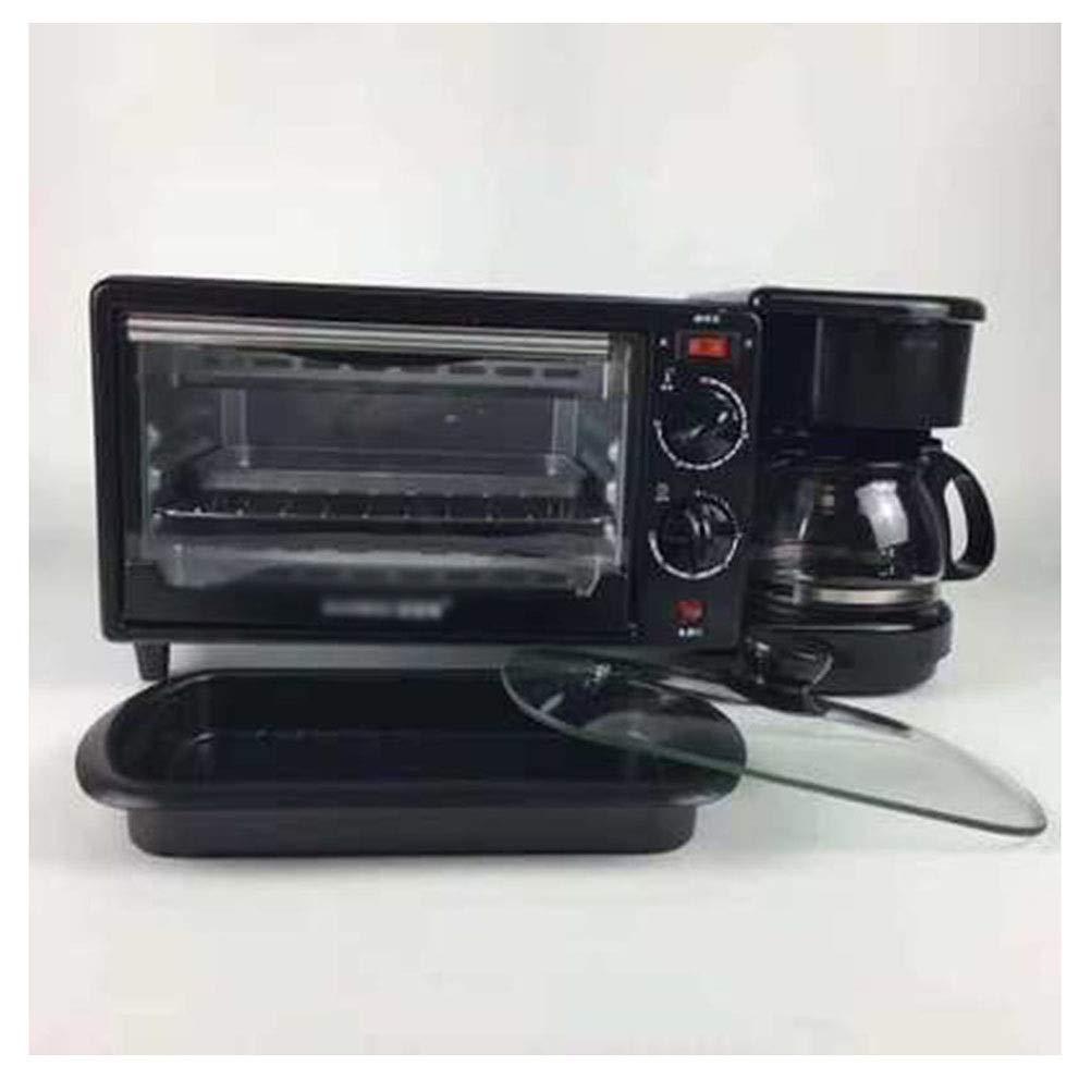 ZCYX オーブントースター多機能スリーインワン朝食機オーブン電気ベーキングトレイコーヒーマシンギフト -7487 オーブン B07RT64LD1