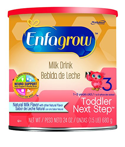 Enfagrow Next Step Natural Milk Powder Can, 24 Ounce (Pack of 4)
