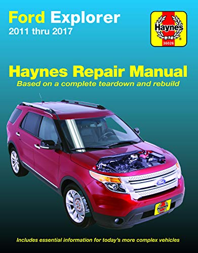2013 Ford Police Car - Ford Explorer (11-17) Haynes Repair Manual (Does not include information specific to Police Interceptor models. Includes thorough vehicle coverage ... exclusion noted.) (Haynes Automotive)