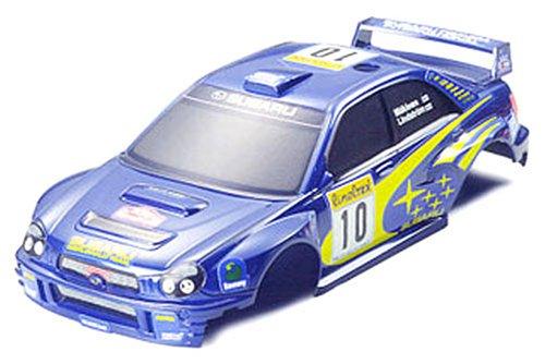 ラジ四駆グレードアップパーツシリーズNO.304 スバル インプレッサWRC2002 ボディセット[15304]