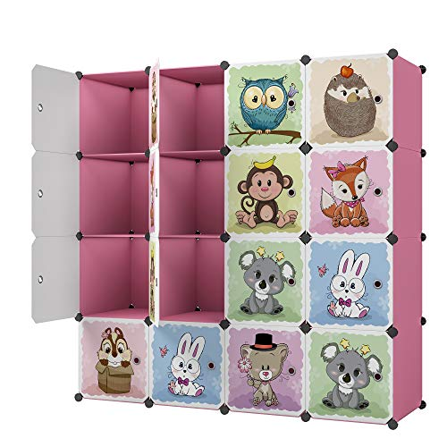 KOUSI Toy Organizer Toy Storage Portable Toy Organizers for Kids Children...