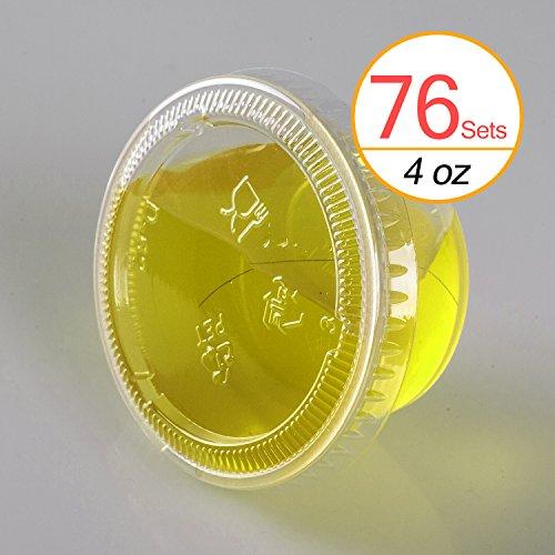 4 oz plastic cups - 9