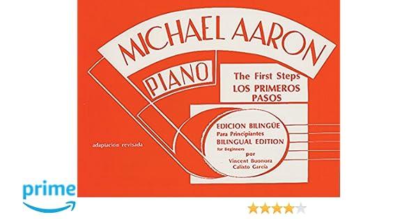 Michael Aaron Piano Course (Curso Para Piano): Primer (Spanish, English Language Edition) (Spanish Edition): Michael Aaron: 9780769238470: Amazon.com: Books