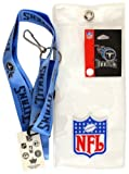 NFL Tennessee Titans Lanyard with Ticket Holder and Logo Pin
