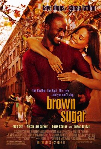 Taye Diggs Poster (Brown Sugar Poster Movie 27x40 Taye Diggs Sanaa Lathan Mos Def)