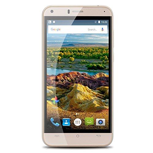 Cubot Manito Smartphone Handy ohne Vertrag 5.0 1280*720 IPS HD 4G MT6737 Quad-Core 1.3GHz 3GB RAM+16GB ROM Dual SIM 13.0MP hintere Kamera Handy Wifi Bluetooth OTG Hotknot Weiß