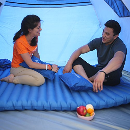 Light Double Size Outdoor Camping Air Mattress Pad Bed