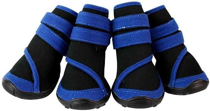 SAMGU Zapatos Perro Calcetines Impermeable Perro Botas Antideslizante Zapatos Botas Perro