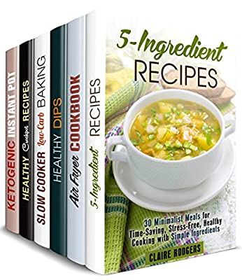 Smart Cooking Box Set (6 in 1): Over 200 Simple, Delicious Recipes for Versatile Appliances in Your Kitchen (Special Diet & Pressure Cooking)
