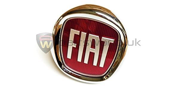Fiat 735579354 - Insignia trasera (para Fiat Punto Evo, Bravo): Amazon.es: Coche y moto