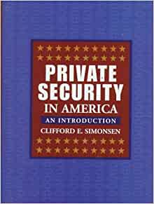 introduction to private security Introduction to private security, 2nd edition / edition 2 private security focuses on practical, real-world concepts and applications and includes detailed coverage of everything from.