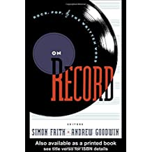 Amazon simon frith books on record rock pop and the written word fandeluxe Image collections