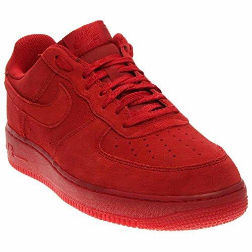 Nike Air Force 1 '07 Lv8 Chaussures De Sport Herren Rojo (salle Rouge / Gym)