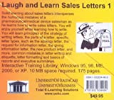 Laugh and Learn Sales Letters 1, Farb, Daniel, 1932634460