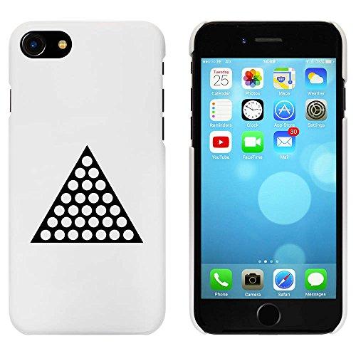 Blanc 'Triangle Pointillé' étui / housse pour iPhone 7 (MC00064524)