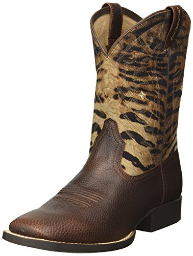 Ariat Unisex Quickdraw Western Boot, Pebbled Pinecone, 11.5 M US Little Kid