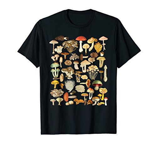 Mushroom Shirt Mycology Fungi Foraging Mushroom Whisperer ()