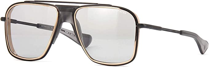 Amazon Com Dita Initiator Dts116 58 03 Sunglasses Black Iron Rose Gold Lens Rims Matte Crystal Grey W Medium Grey Ar Lens 58mm Clothing