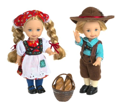 Hansel And Gretel Costumes For Children (Barbie Collectibles Hansel & Gretel Collector Edition)