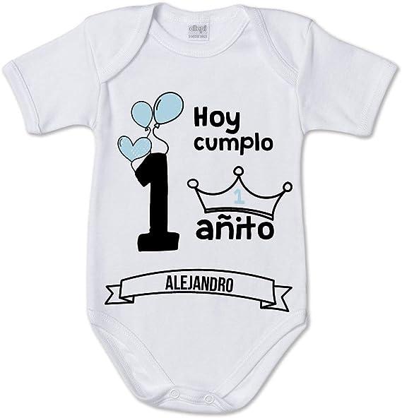 AR Regalos Body bebé Primer cumpleaños (Niño): Amazon.es: Ropa y accesorios