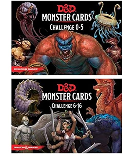 Amazon Com D D Monster Cards 5e Bundle Including Monster Cards Challenge 0 5 Deck And Challenge 6 16 Deck Toys Games Not knowing she unleashed a mummy high priest. gale force 9