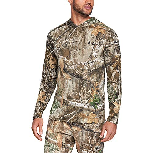 Under Armour Men's TB Early Season Base Hoodie, Realtree Edge (991)/Black, X-Large (Under Armour Realtree Camo Shirt)