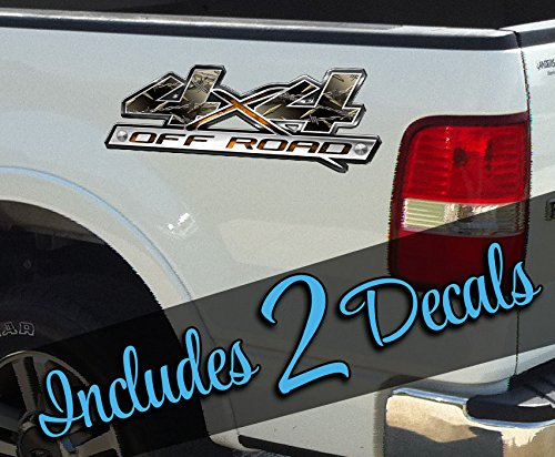 X05 4X4 Barbed Wire Decal Sticker Off Road Vinyl Wrap Tint Bed Side Banner