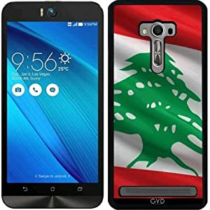 Funda para Asus Zenfone Selfie (ZD551KL) - Bandera De Líbano by Carsten Reisinger