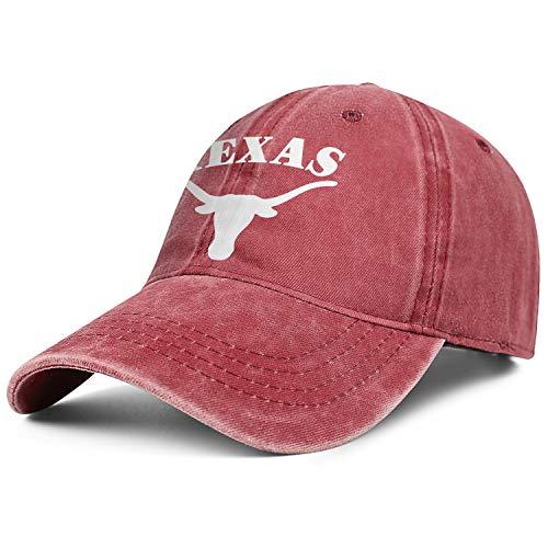Texas Longhorns Cycling Jersey - Texas Longhorns Cliparts Logo Symbol Cap Cowboy Hat Unisex Custom Activities Denim Hats