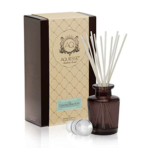 COASTAL HYACINTH REED DIFFUSER Portfolio Collection Gift Boxed by Aquiesse
